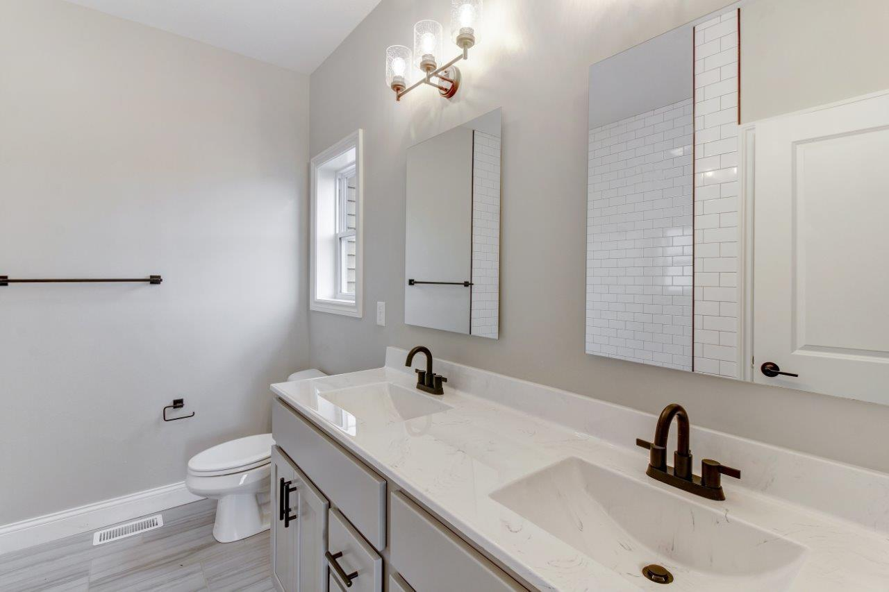 Bathroom featured in the Douglas 3 By Unlimited Homes in Champaign-Urbana, IL