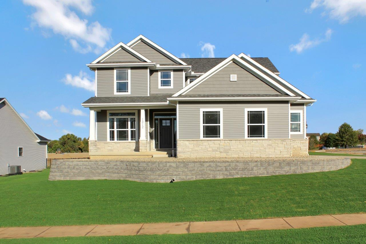 Exterior featured in the Greenbriar 2 By Unlimited Homes in Champaign-Urbana, IL