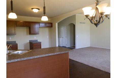 Kitchen-in-The Drake Duplex-at-Mallard Ponds-in-Burton