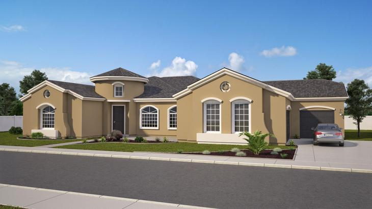 Elevation A:Fully Customizable Home!