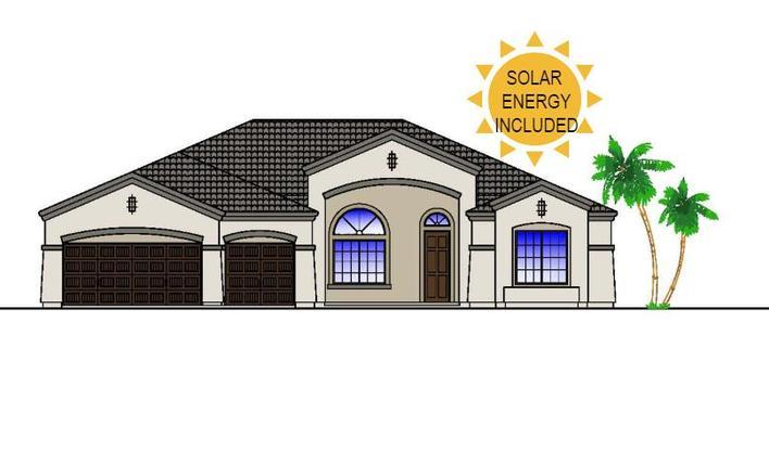 SOLAR ENERGY INCLUDED:Fully Customizable Home!