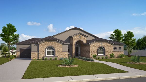 Exterior featured in the Claymoore By VIP Homes in Phoenix-Mesa, AZ