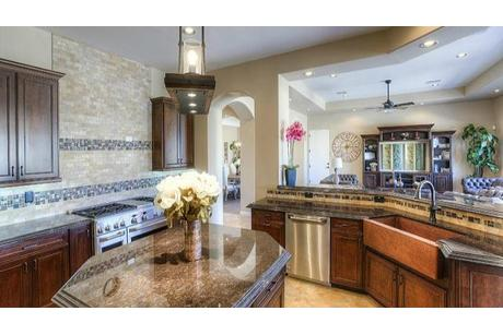 Kitchen-in-Mountain Sky-at-Verrado Custom Homes-in-Buckeye