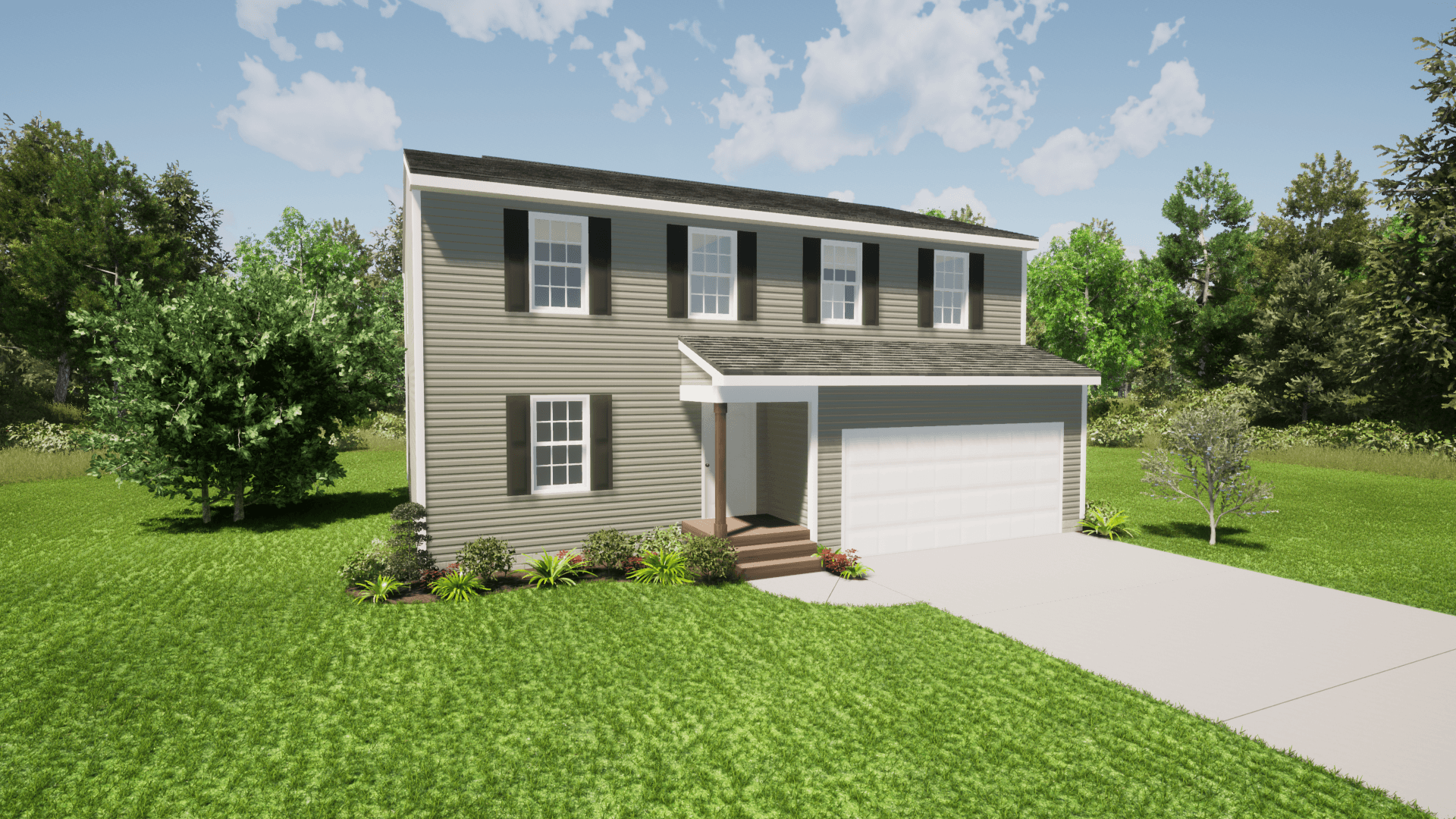 Exterior featured in The Robin By ValueBuild Homes in Hickory, NC