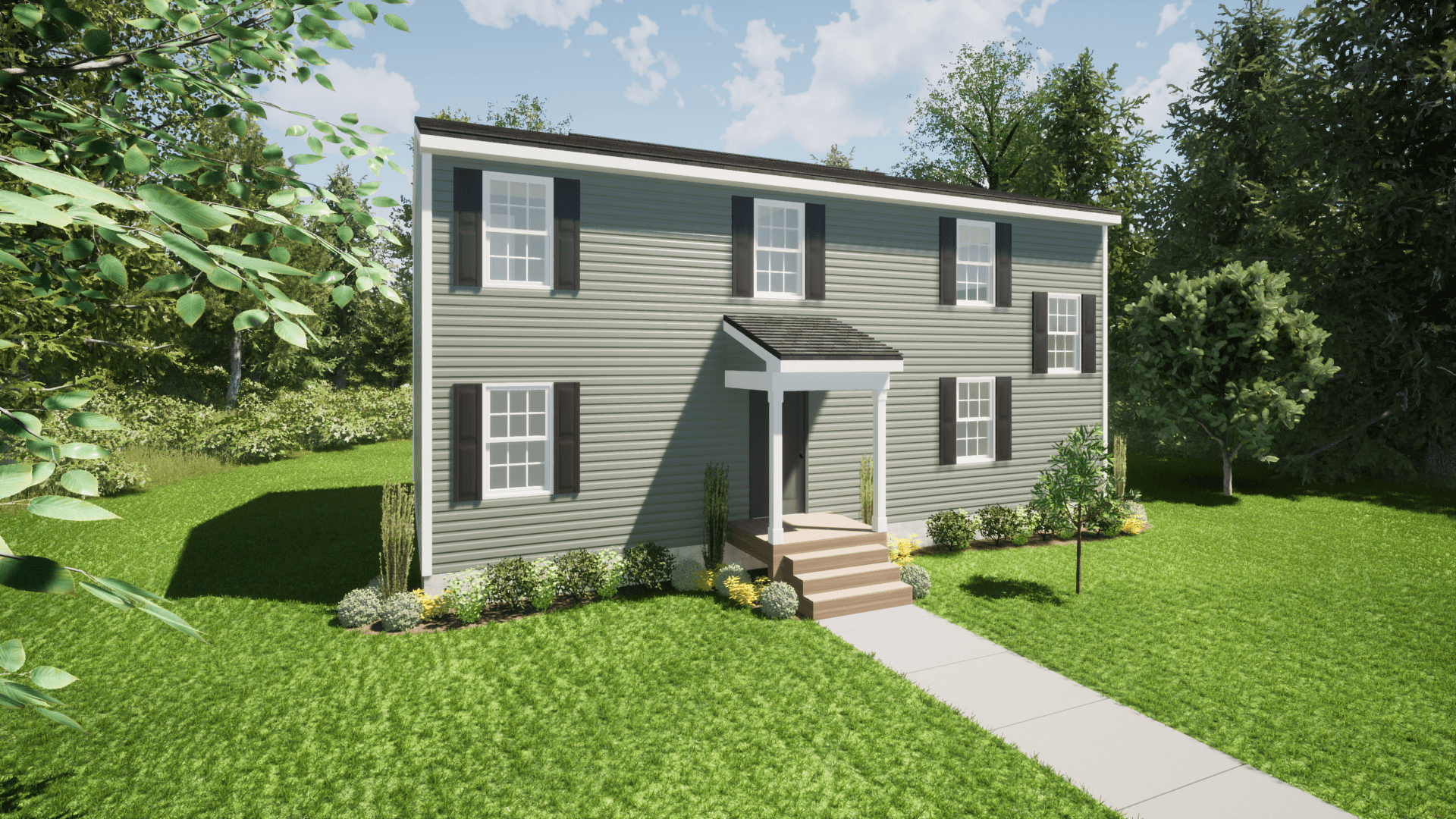 Exterior featured in The Norman By ValueBuild Homes in Hickory, NC