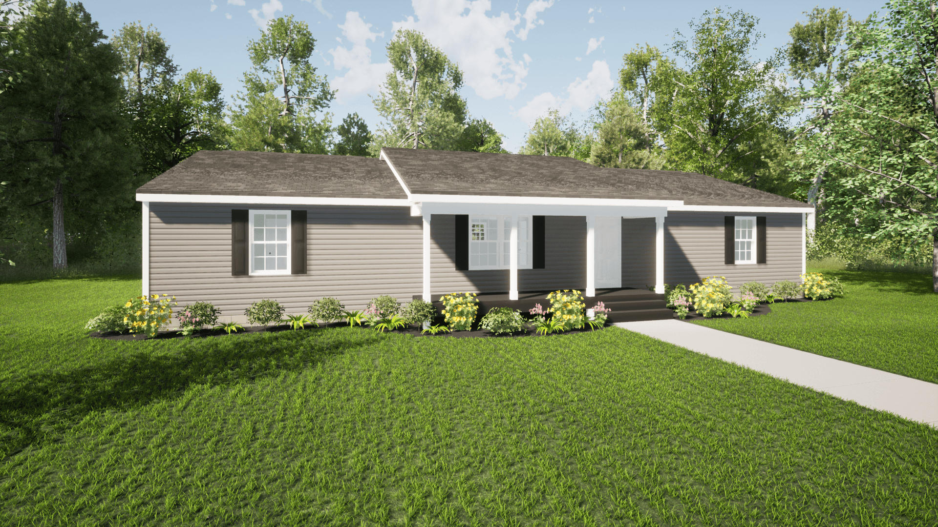 Exterior featured in The Matthew By ValueBuild Homes in Hickory, NC