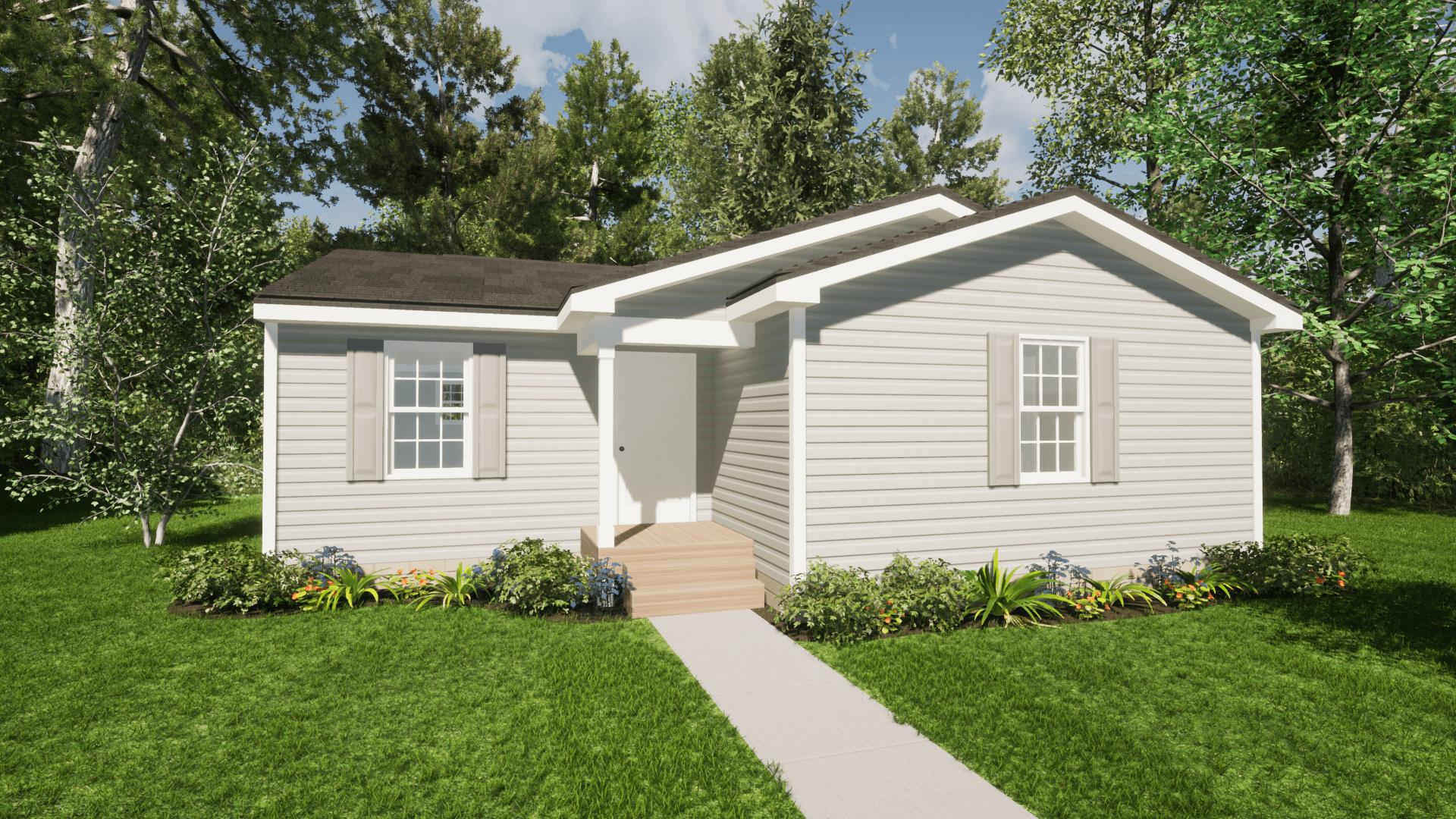 Exterior featured in The Judy By ValueBuild Homes in Fayetteville, NC