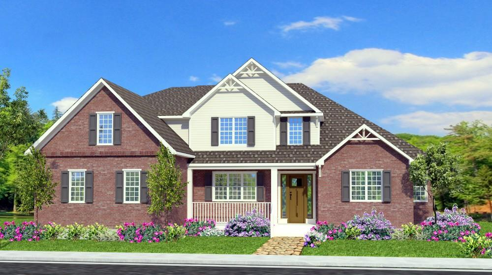 Exterior featured in The Ashton By ValueBuild Homes in Hickory, NC