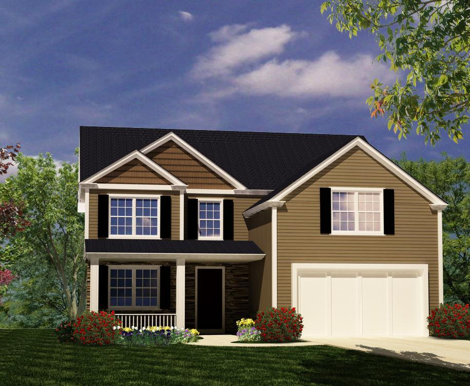 Exterior featured in The Hyde By ValueBuild Homes in Fayetteville, NC