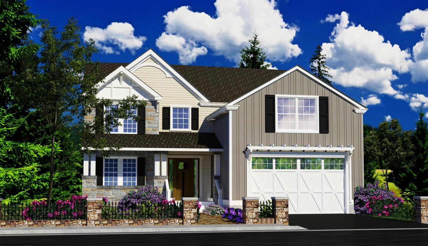Exterior featured in The Hyde By ValueBuild Homes in Hickory, NC