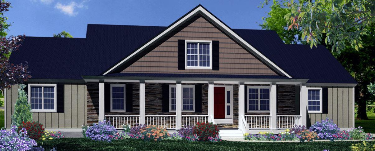 Exterior featured in The Burke By ValueBuild Homes in Fayetteville, NC
