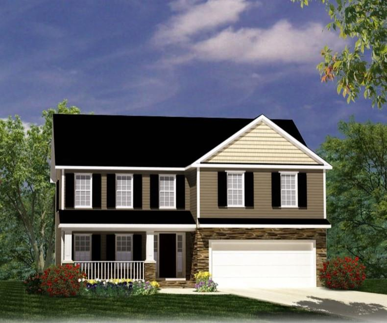 Exterior featured in The Stanley By ValueBuild Homes in Hickory, NC