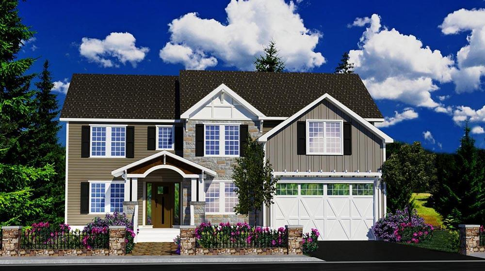 Exterior featured in The Wayne By ValueBuild Homes in Hickory, NC