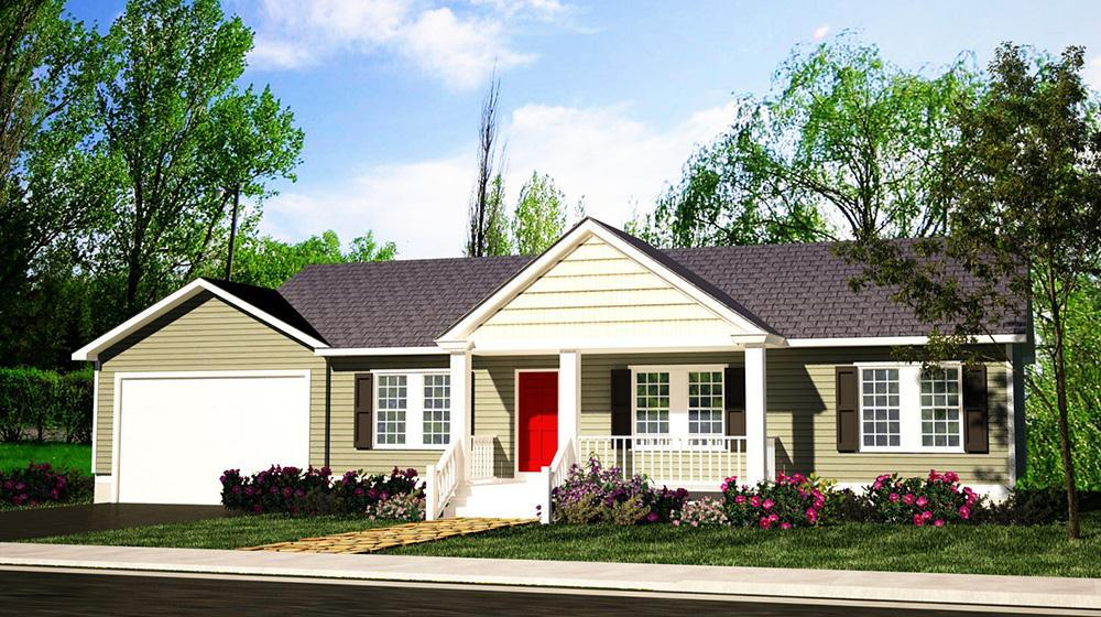 Exterior featured in The Patriot By ValueBuild Homes in Fayetteville, NC