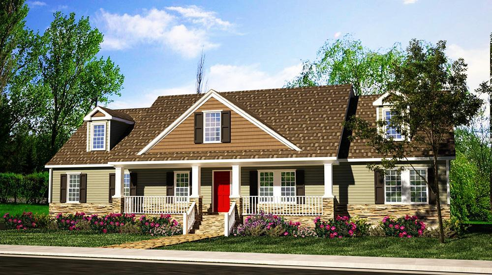 Exterior featured in The Patriot By ValueBuild Homes in Pinehurst-Southern Pines, NC