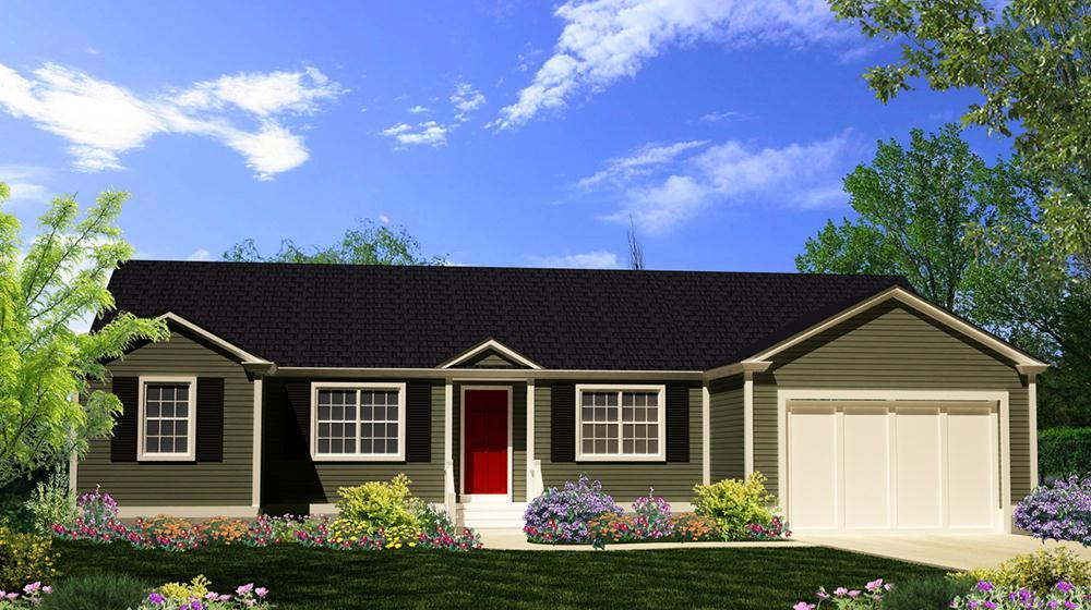 Exterior featured in The Pamlico By ValueBuild Homes in Hickory, NC