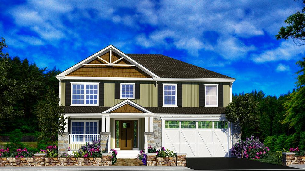 Exterior featured in The Moore By ValueBuild Homes in Pinehurst-Southern Pines, NC