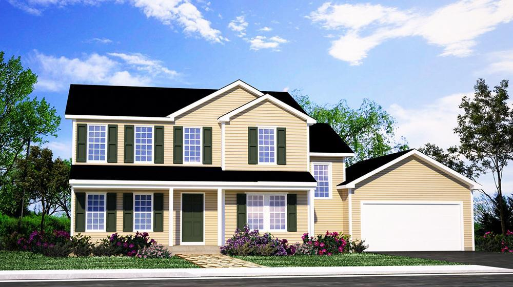 Exterior featured in The Erickson By ValueBuild Homes in Fayetteville, NC