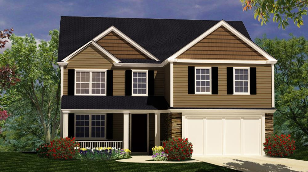 Exterior featured in The Cherokee By ValueBuild Homes in Hickory, NC