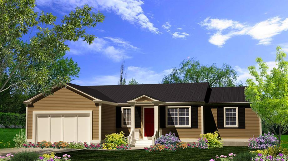 Exterior featured in The Brunswick By ValueBuild Homes in Hickory, NC