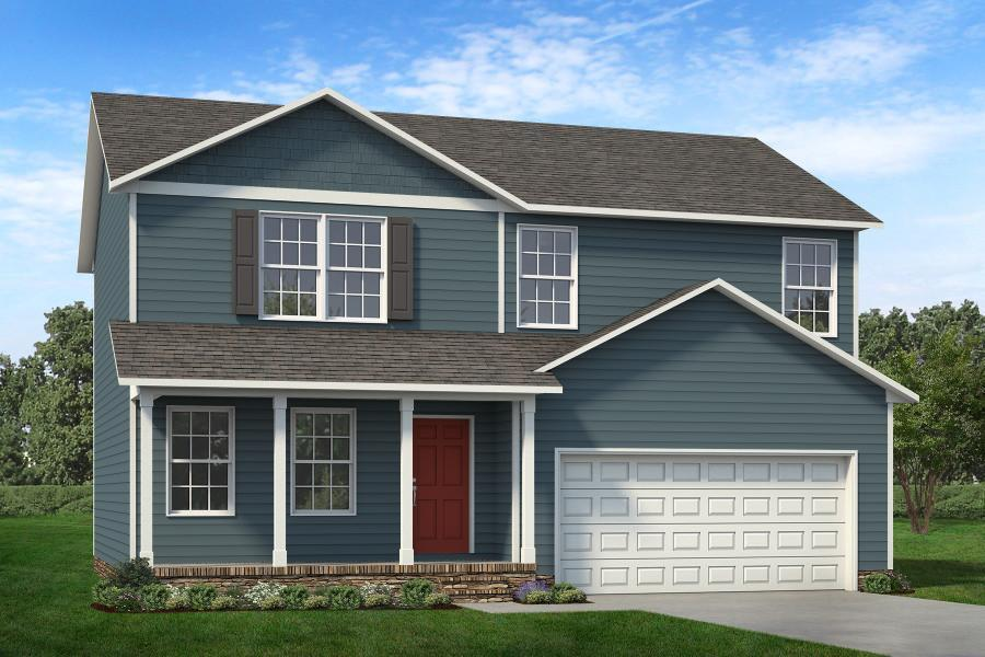 Exterior featured in The Calhoun By ValueBuild Homes in Hickory, NC