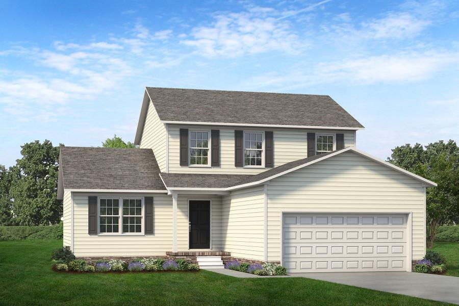 Exterior featured in The Yadkin By ValueBuild Homes in Hickory, NC