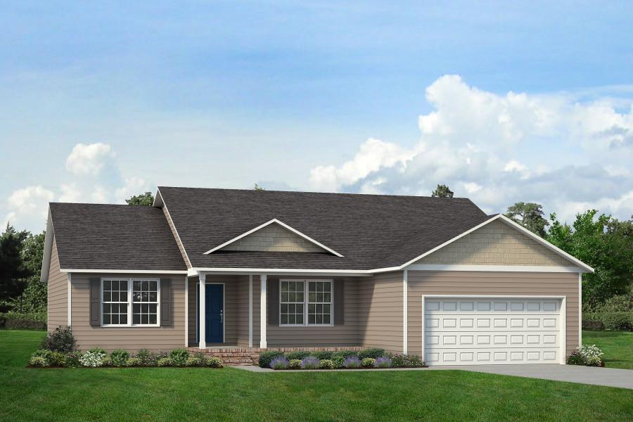 Exterior featured in The Anson By ValueBuild Homes in Fayetteville, NC