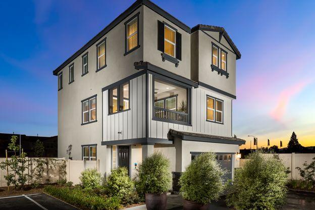 Magnolia Park In Anaheim Ca New Homes Floor Plans By Van Daele Homes