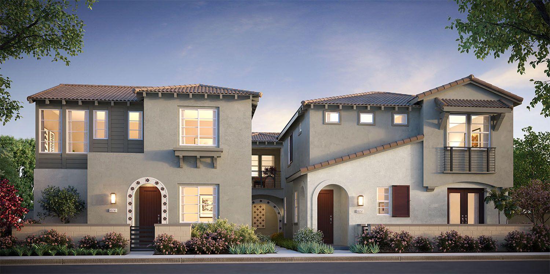 Exterior featured in the Residence 2  By Van Daele Homes in Riverside-San Bernardino, CA