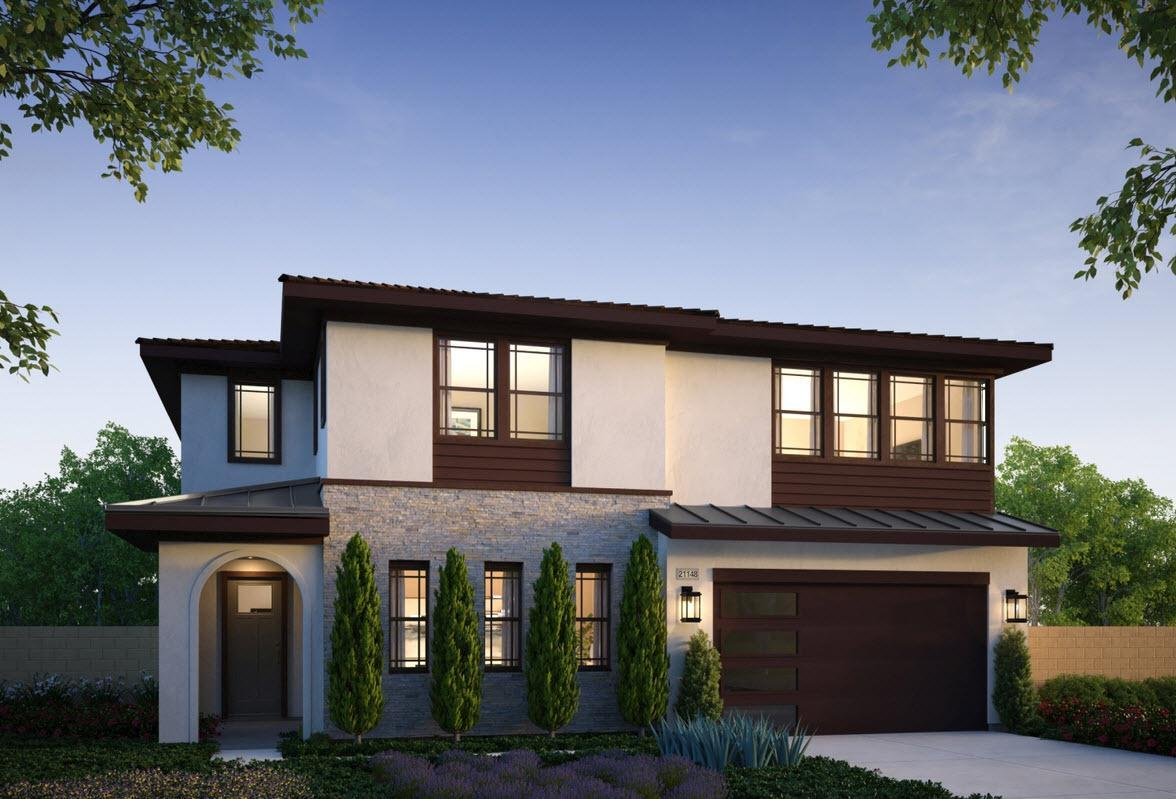 Exterior featured in the Residence 3 By Van Daele Homes in Los Angeles, CA