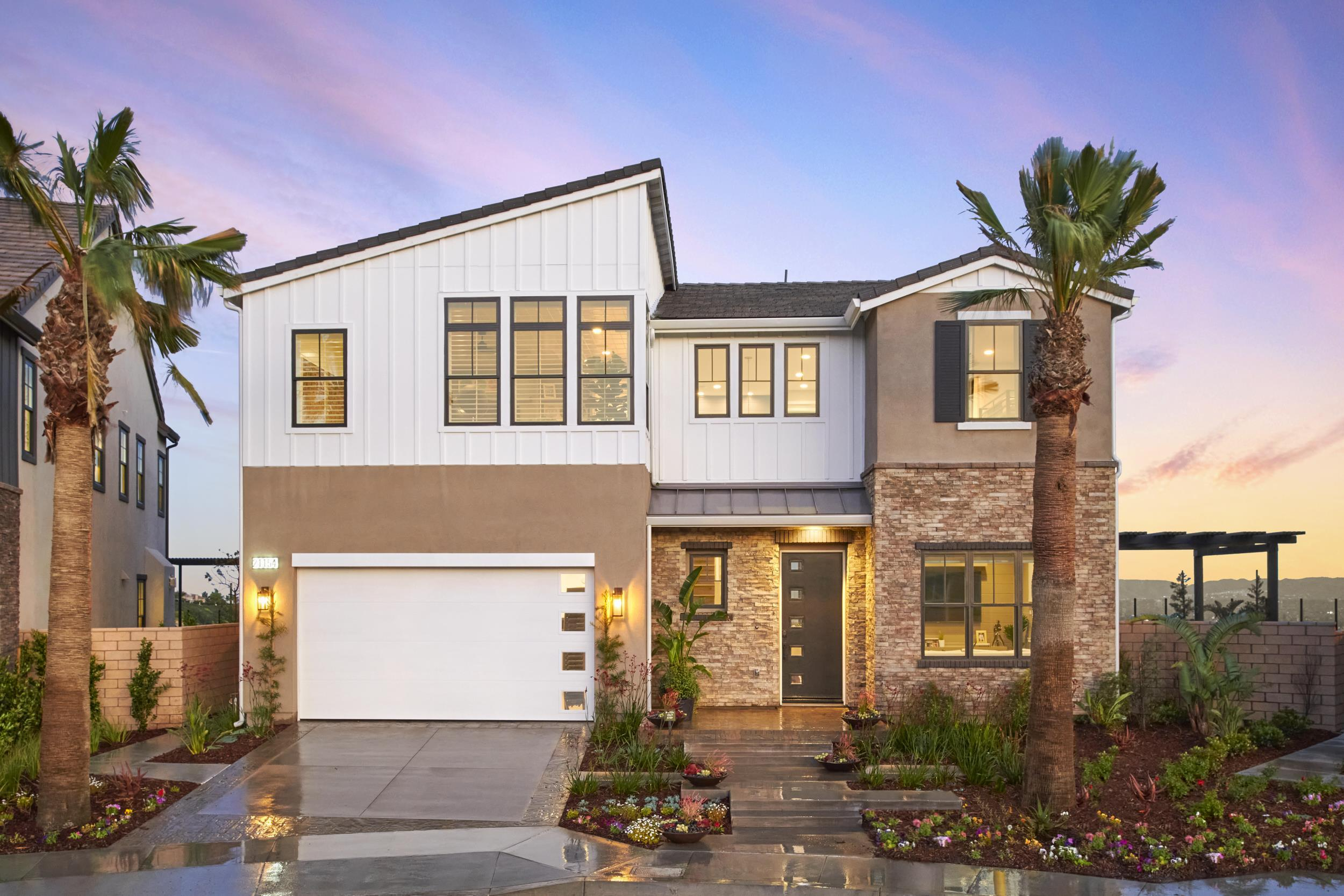 Exterior featured in the Residence 1 By Van Daele Homes in Los Angeles, CA
