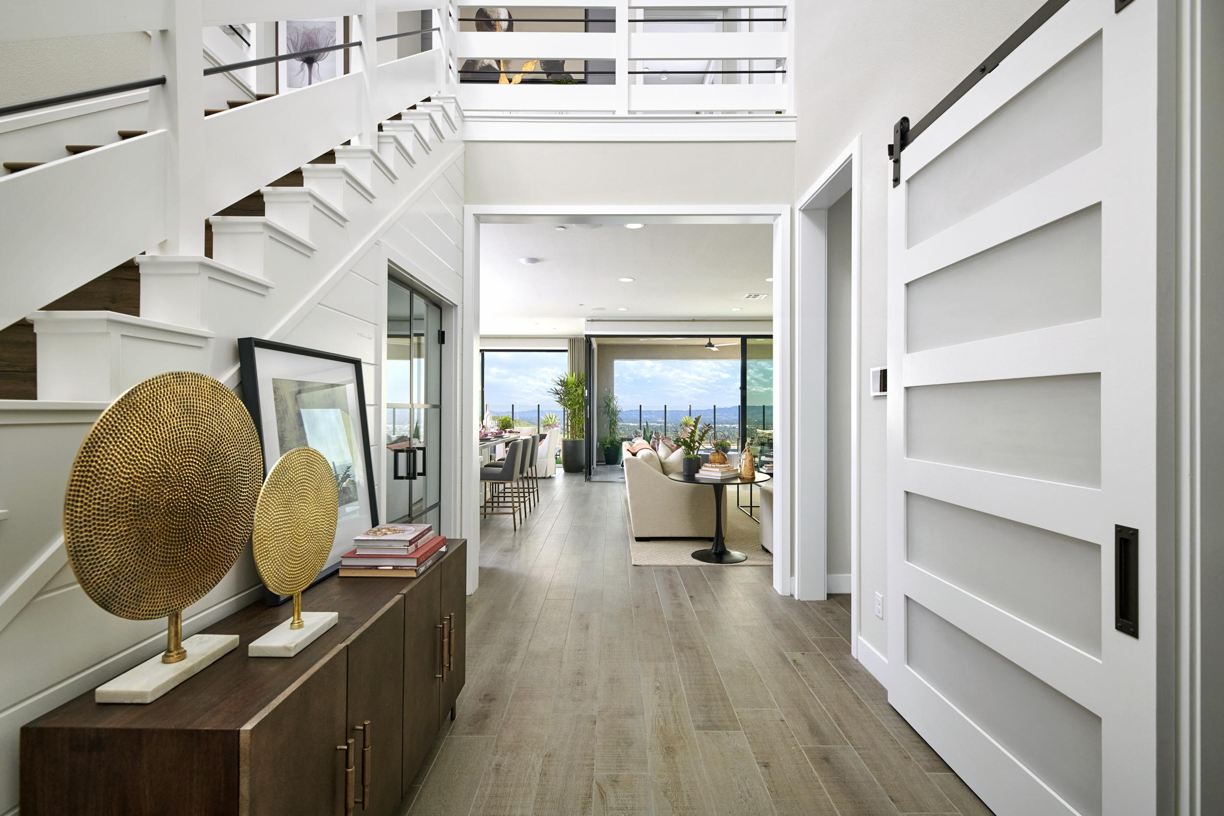 Living Area featured in the Residence 1 By Van Daele Homes in Los Angeles, CA