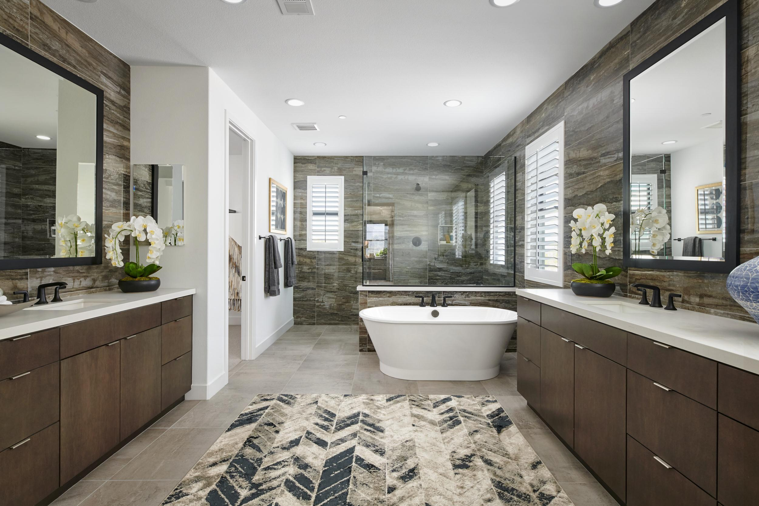 Bathroom featured in the Residence 3 By Van Daele Homes in Los Angeles, CA