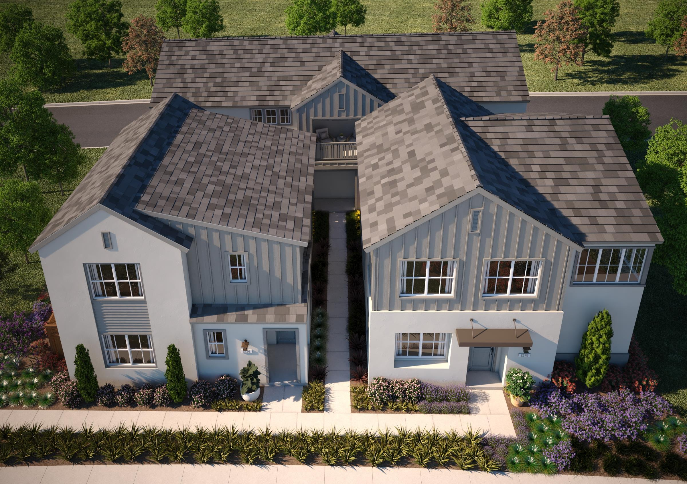 Exterior featured in the Residence 3 By Van Daele Homes in Stockton-Lodi, CA