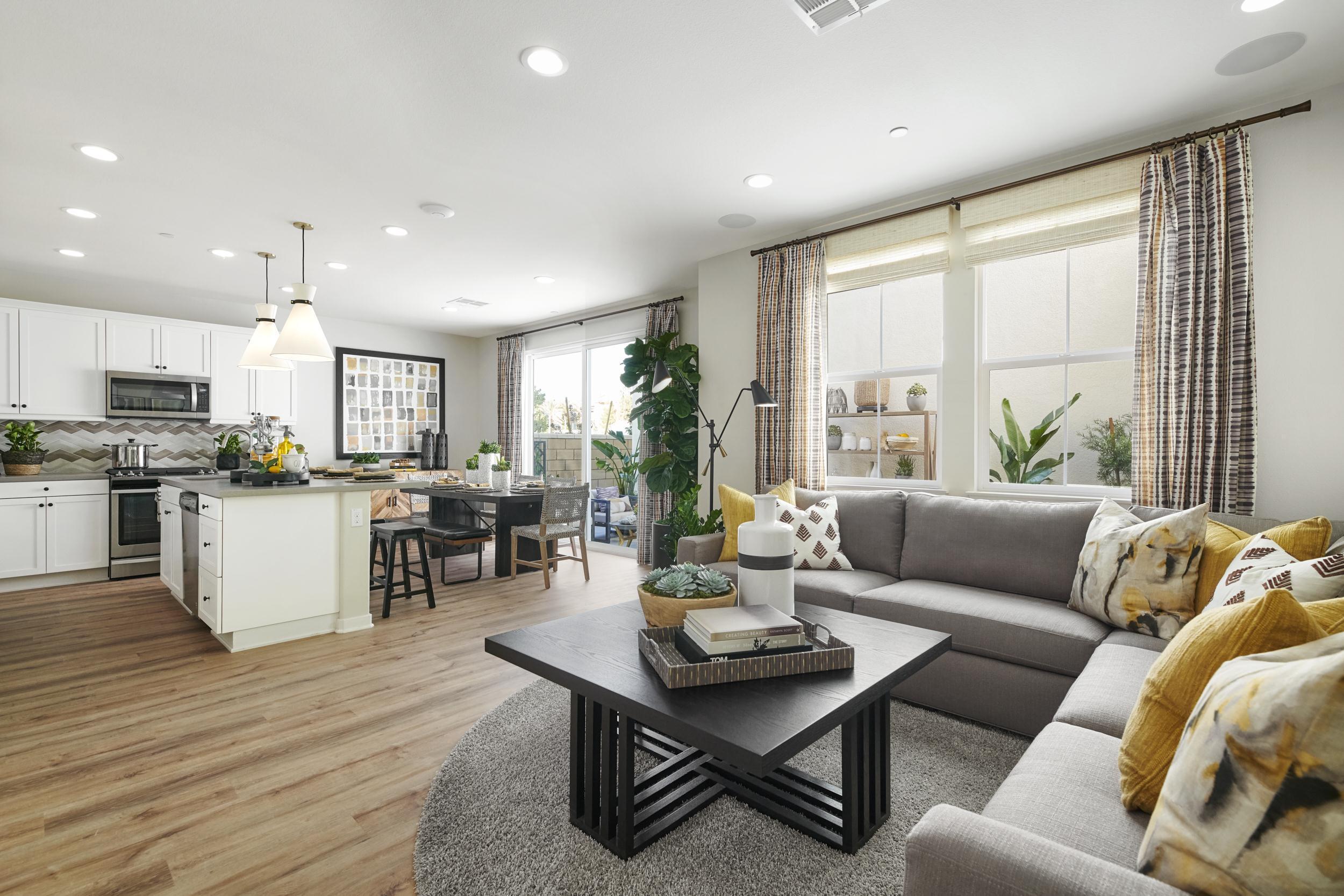 Living Area featured in the Residence 2  By Van Daele Homes in Riverside-San Bernardino, CA