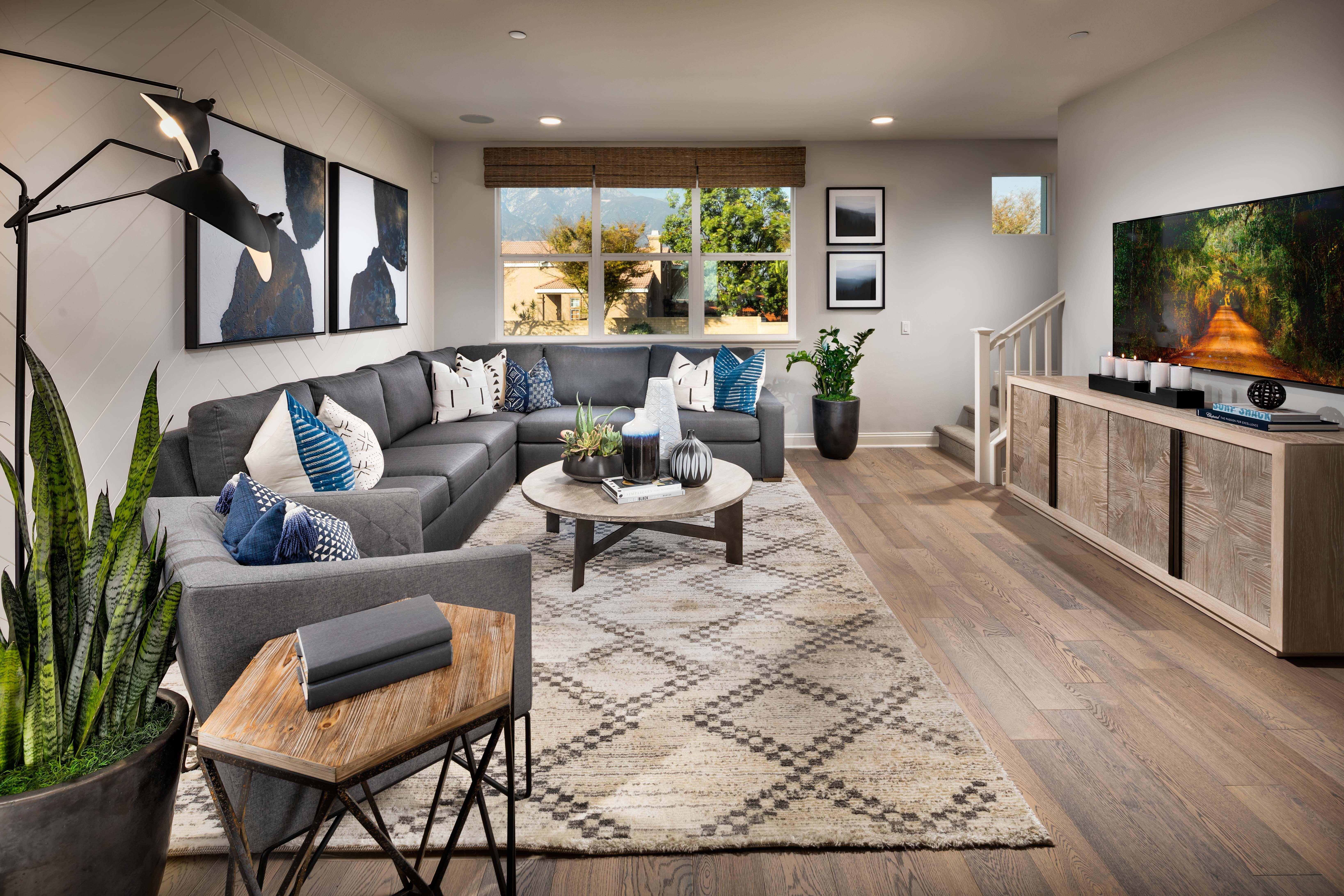 Living Area featured in the Residence 3 By Van Daele Homes in Riverside-San Bernardino, CA