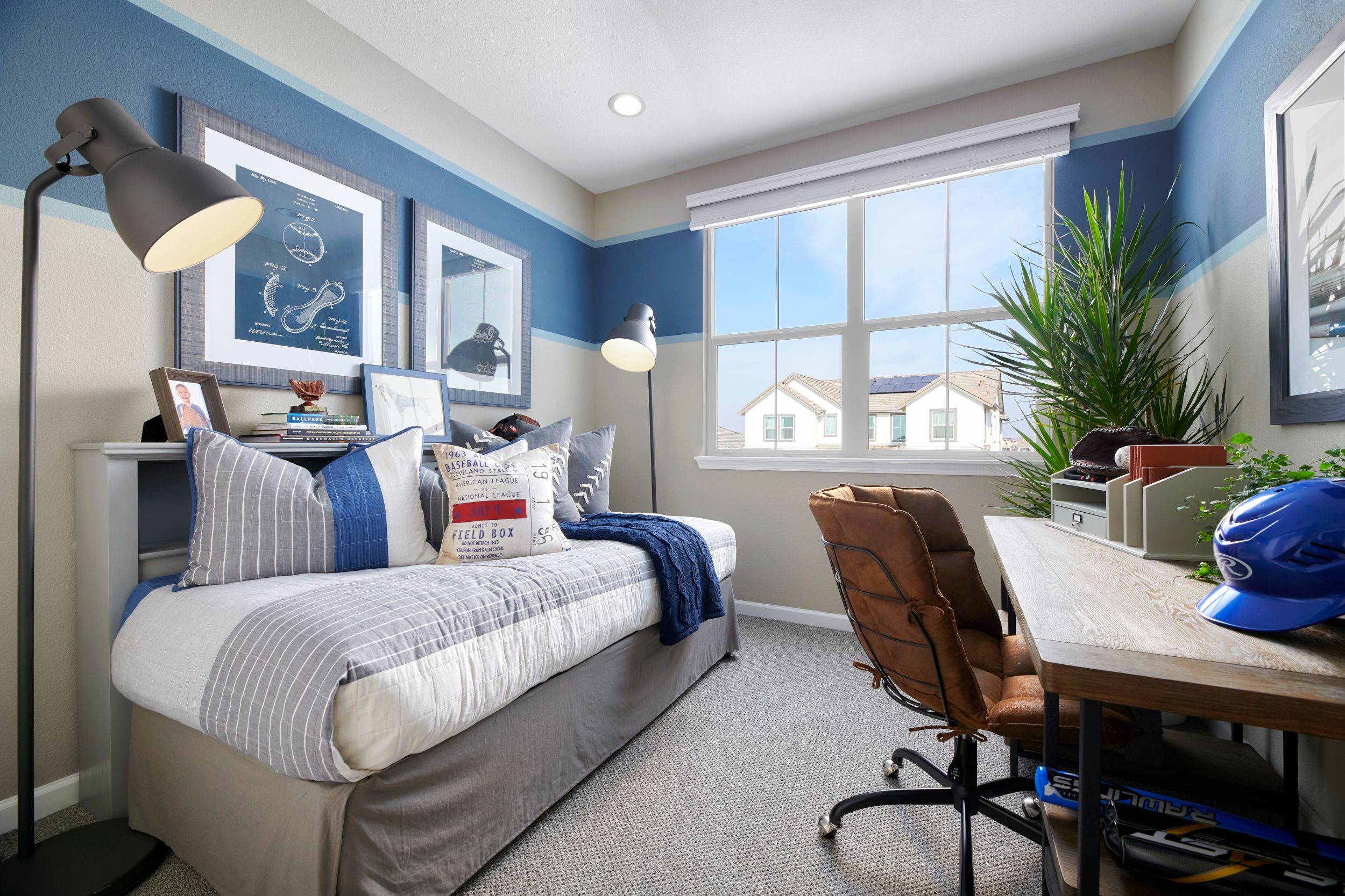 Bedroom featured in the Residence 3 By Van Daele Homes in Stockton-Lodi, CA