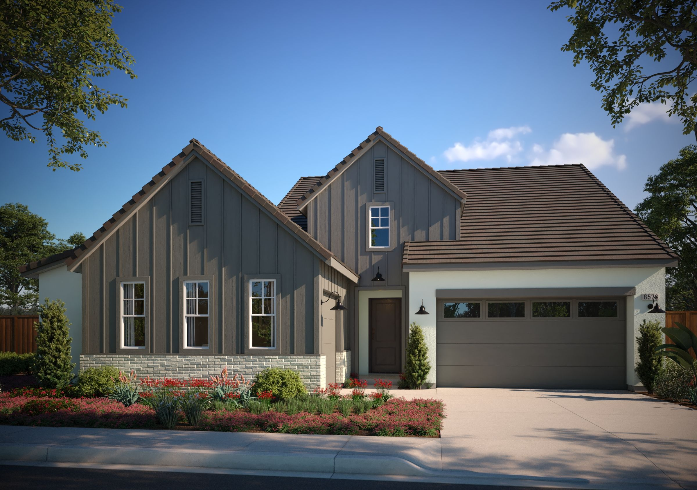 Exterior featured in the Residence 1 By Van Daele Homes in Stockton-Lodi, CA