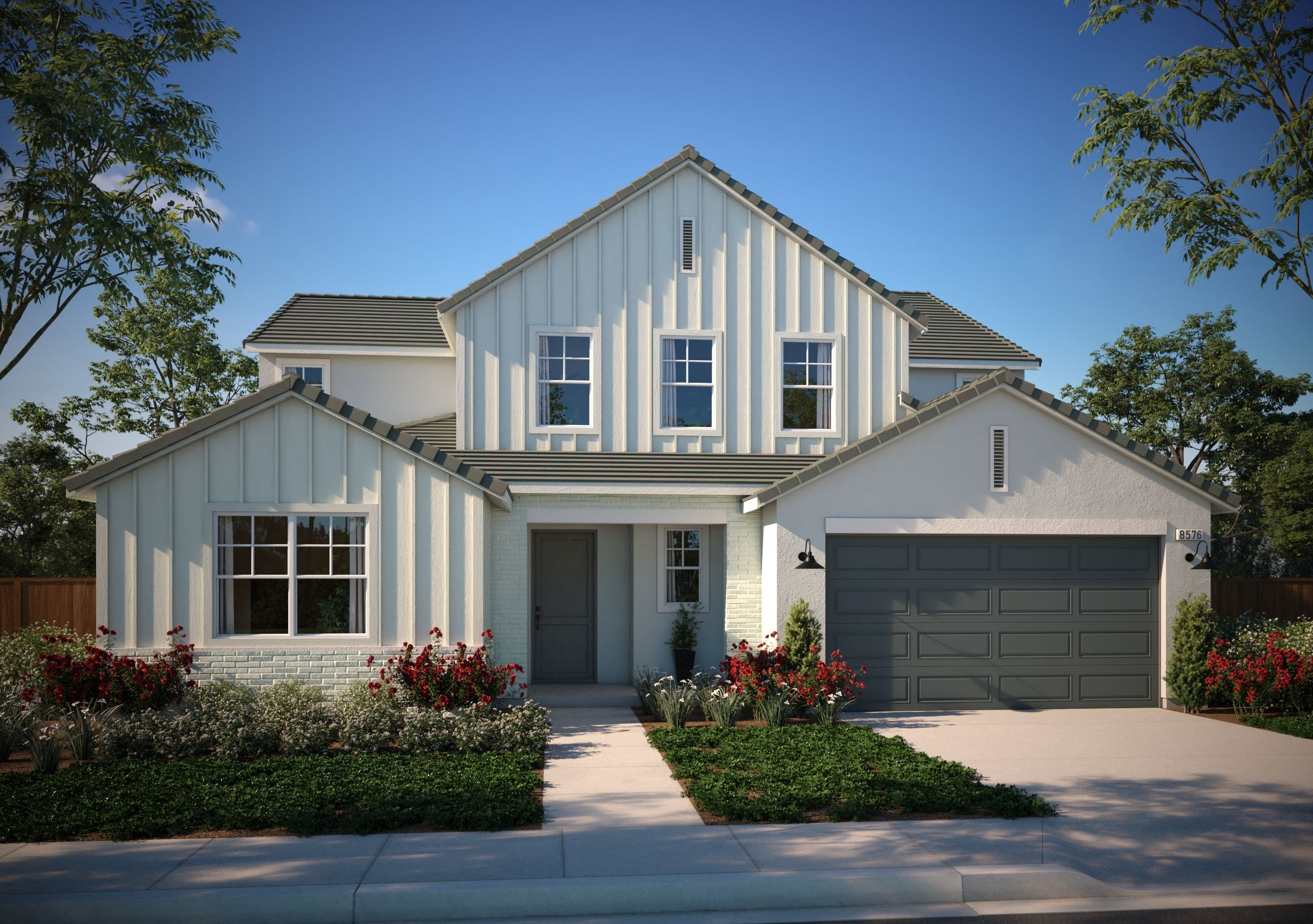 Exterior featured in the Residence 2 By Van Daele Homes in Stockton-Lodi, CA