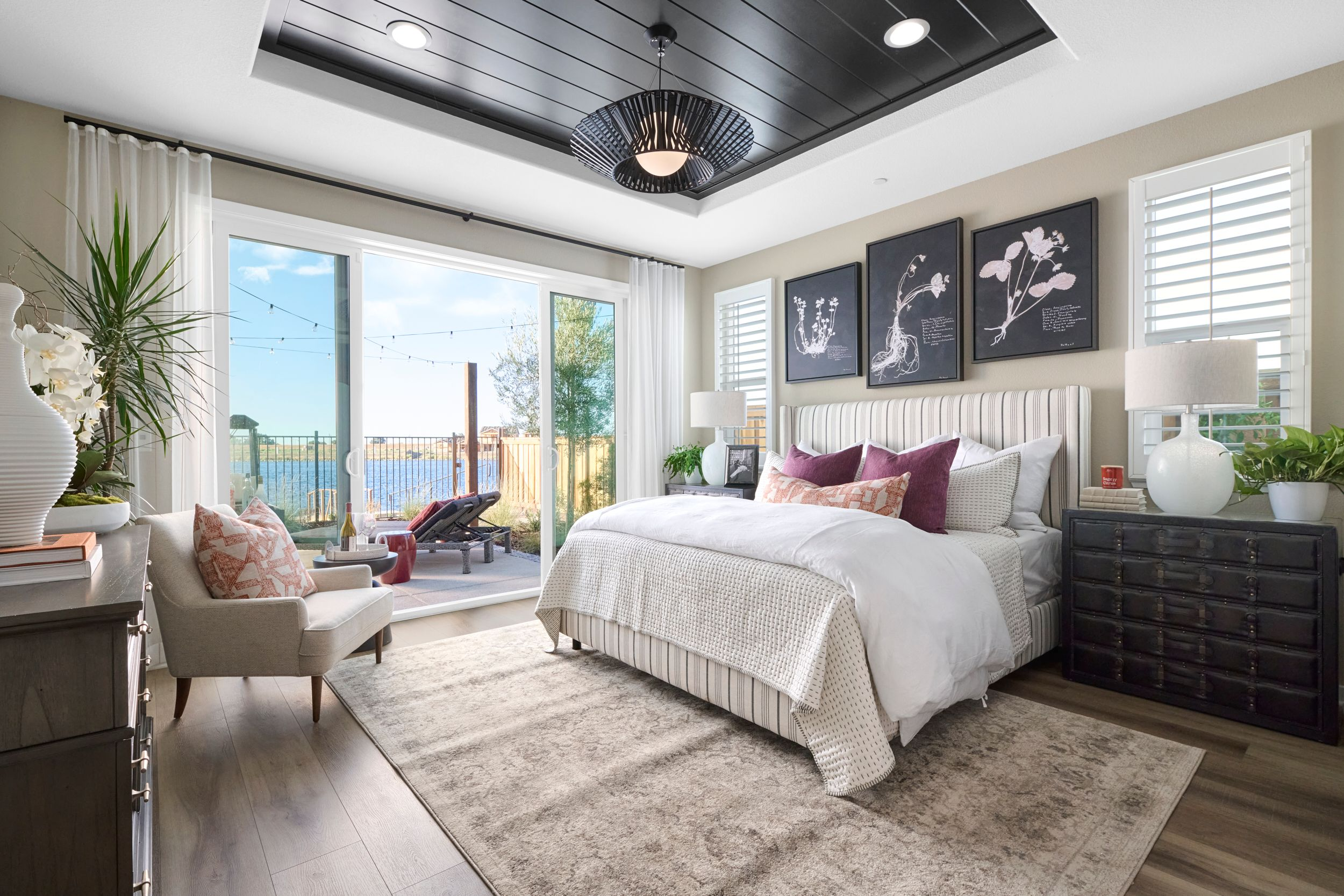 Bedroom featured in the Residence 1 By Van Daele Homes in Stockton-Lodi, CA