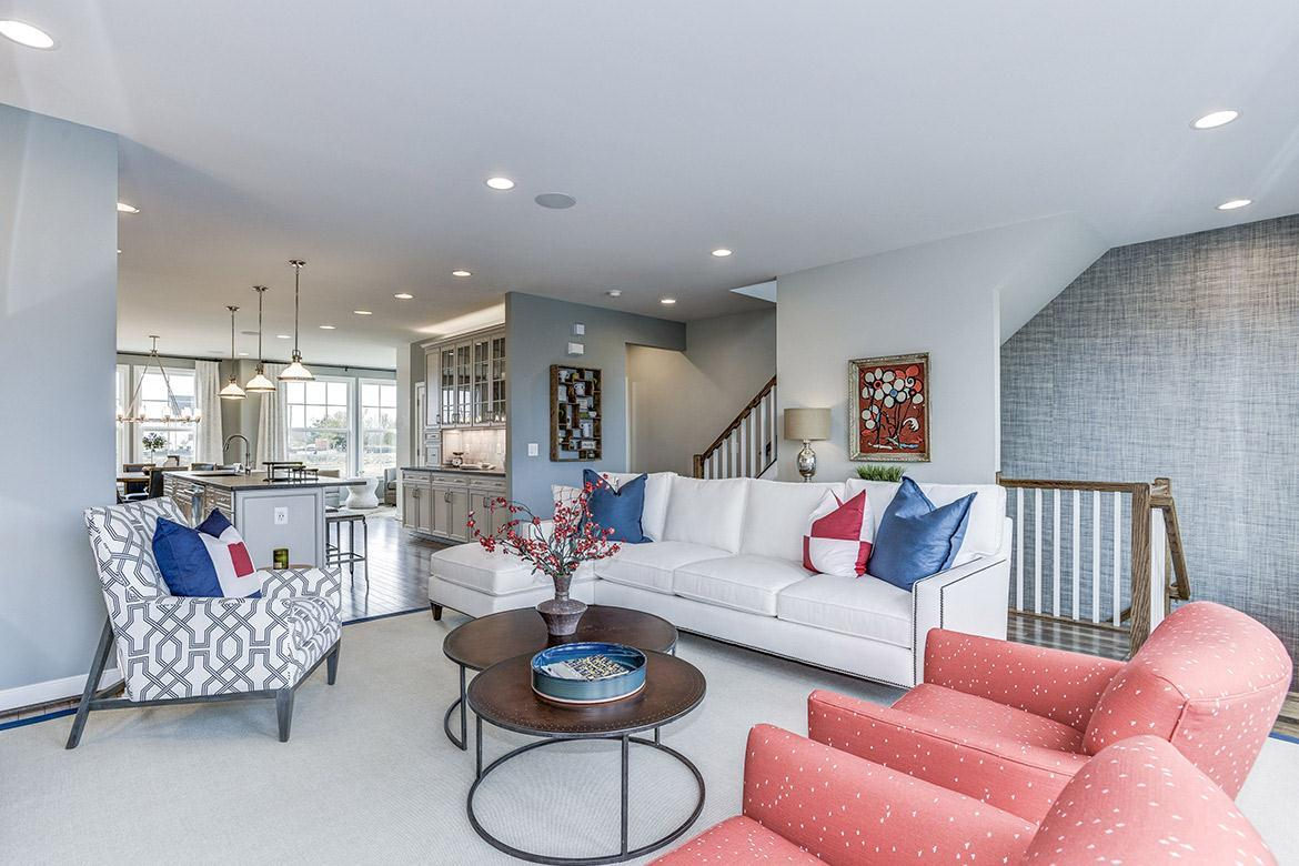 Living Area featured in the Carver By Van Metre Homes in Washington, VA