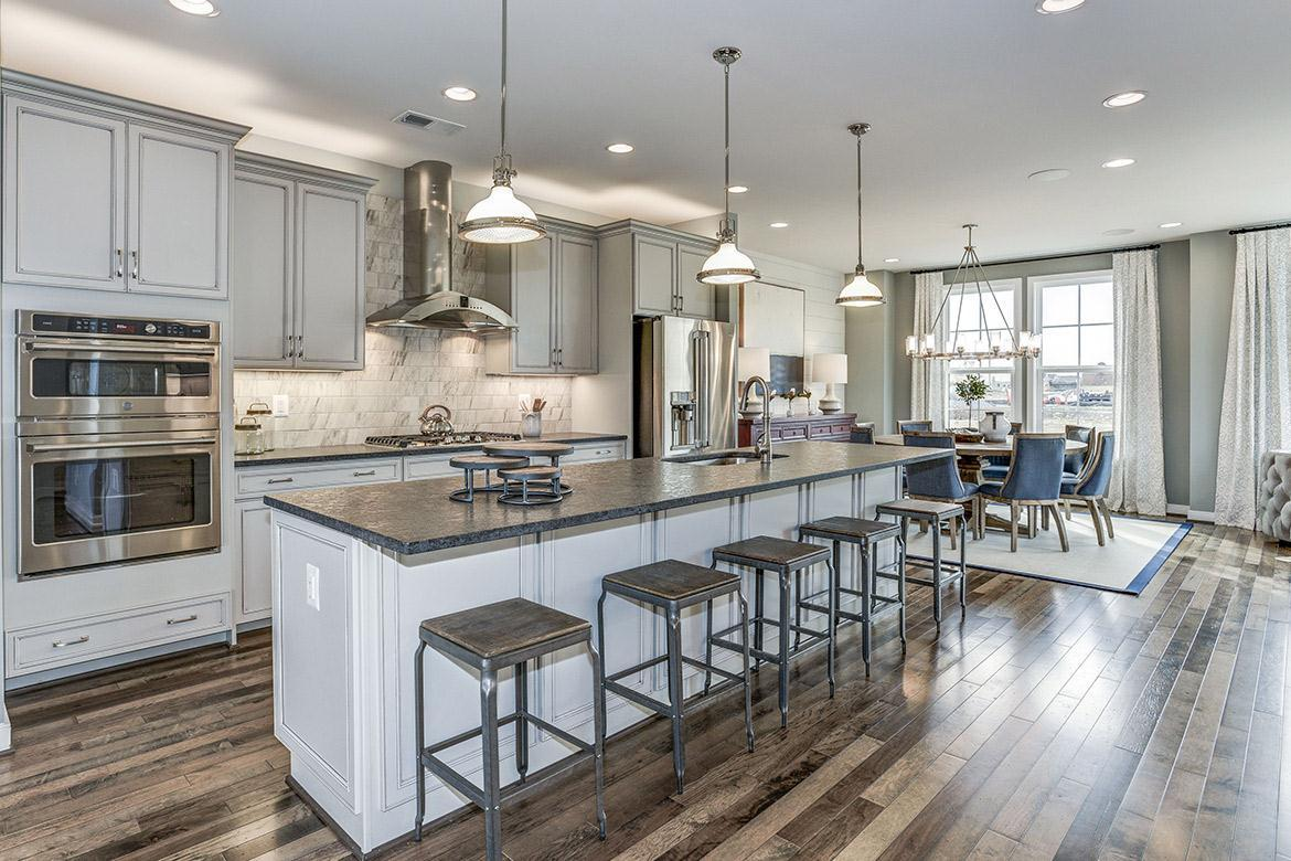 Kitchen featured in the Carver By Van Metre Homes in Washington, VA