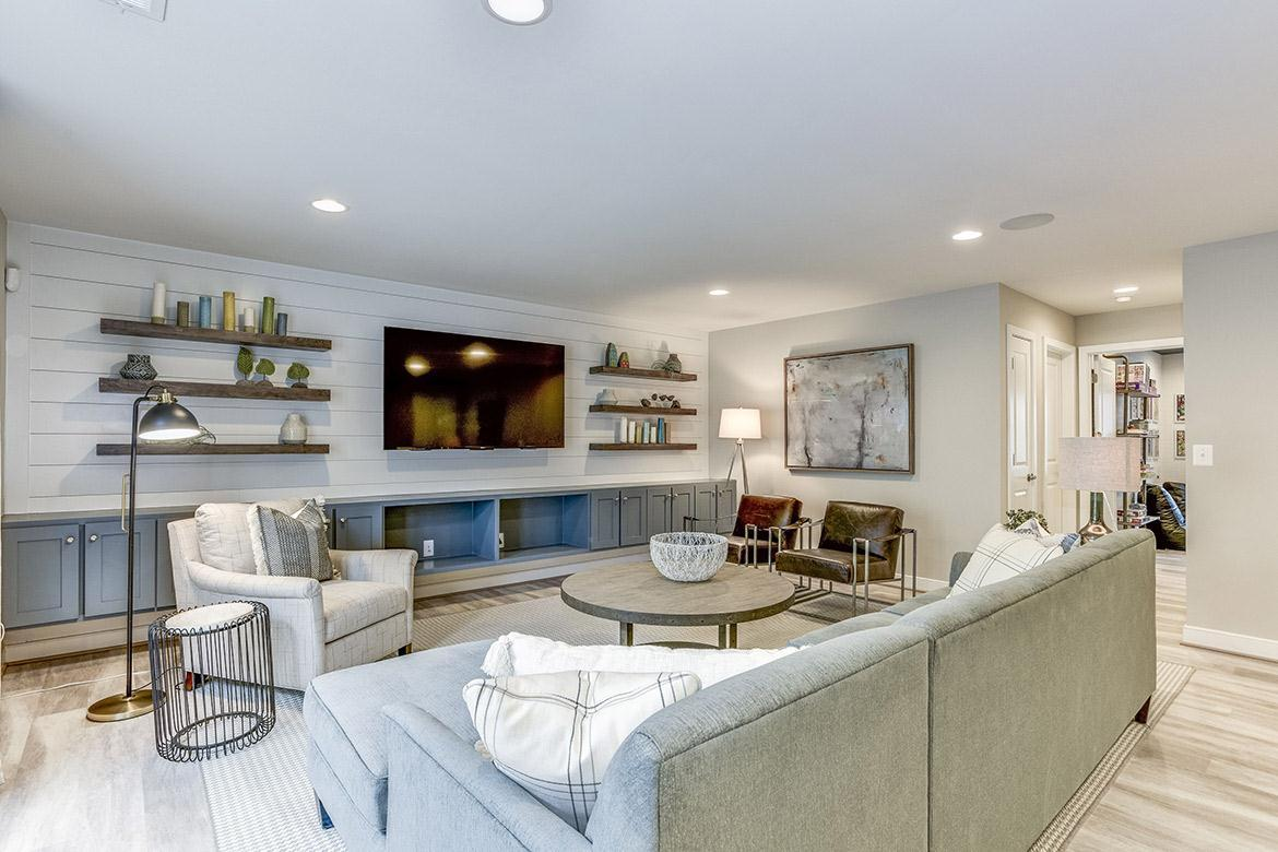 Living Area featured in the Grandin By Van Metre Homes in Washington, VA