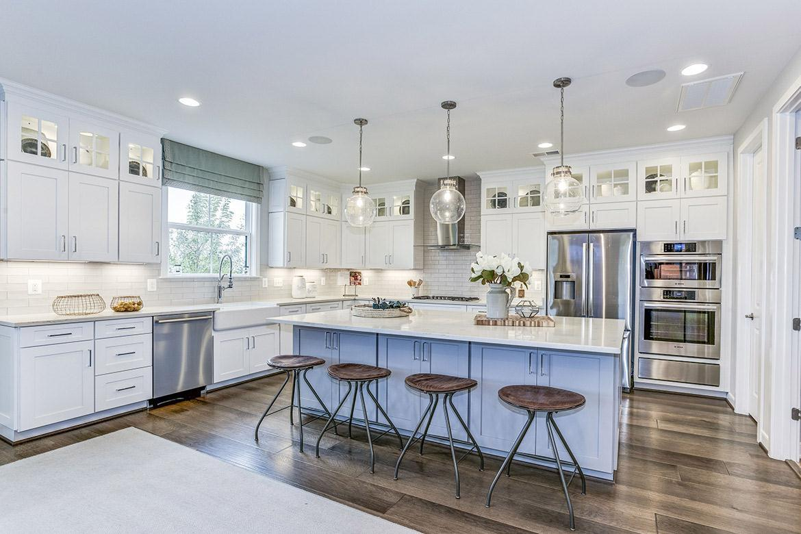 Kitchen featured in the Grandin By Van Metre Homes in Washington, VA