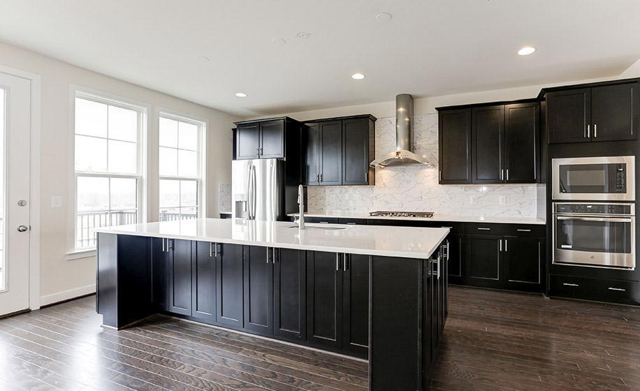 Kitchen featured in the Holt By Van Metre Homes in Washington, VA