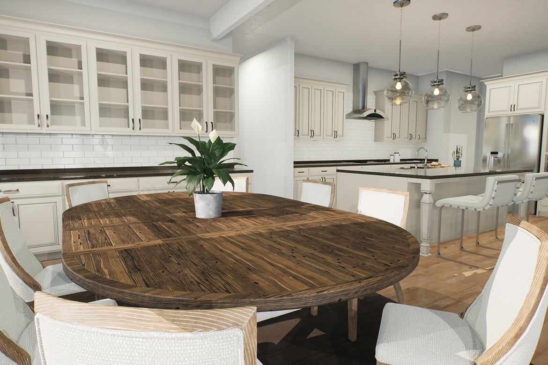 Kitchen featured in the Oatland II By Van Metre Homes in Washington, VA