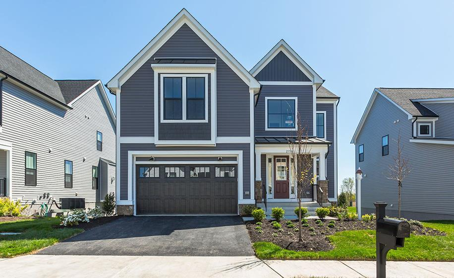 Exterior featured in the Parr By Van Metre Homes in Washington, VA