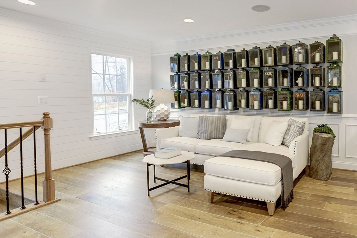 Living Area featured in the Ward By Van Metre Homes in Washington, VA