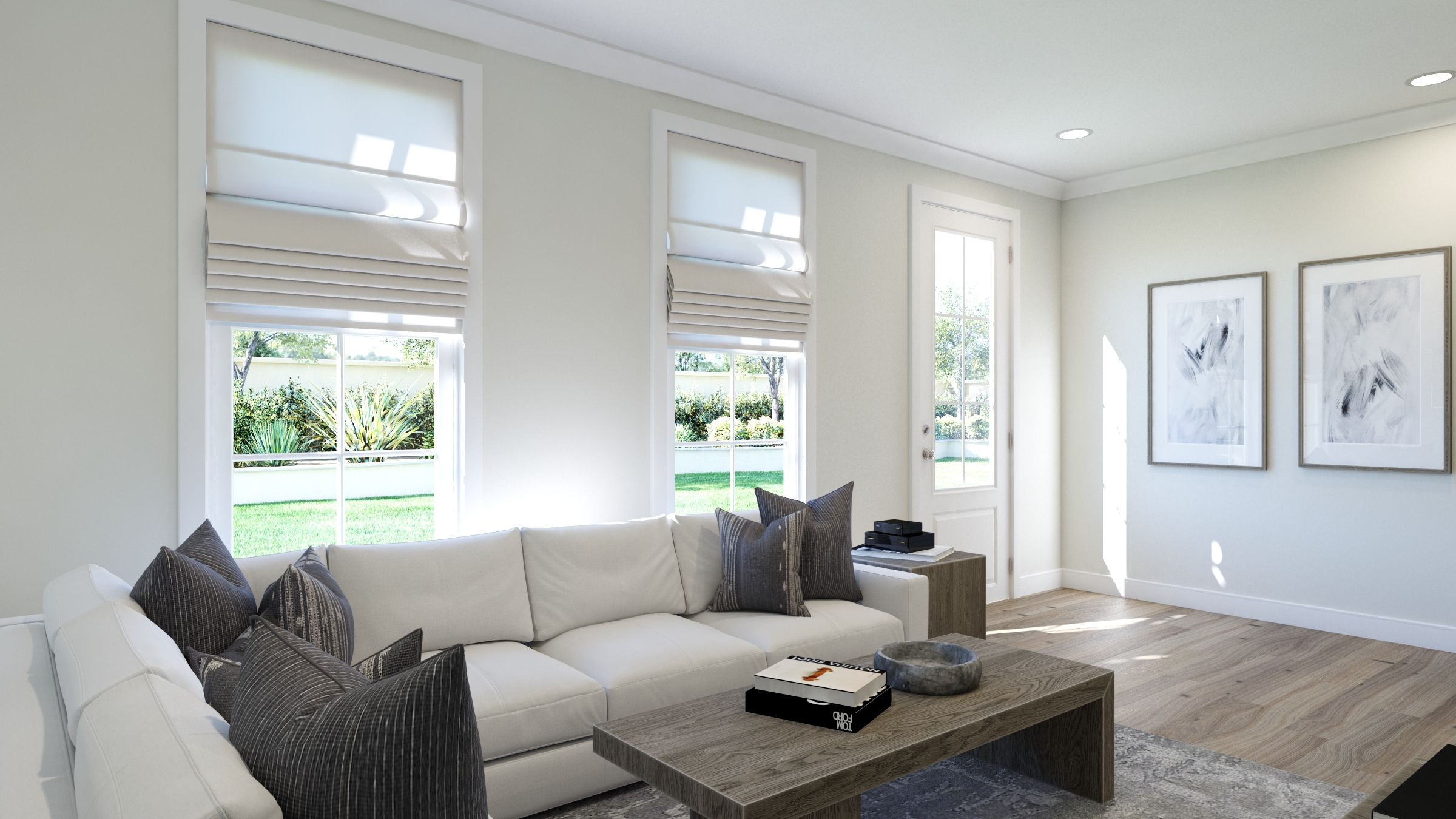 Living Area featured in the Tristan By Van Metre Homes in Washington, VA