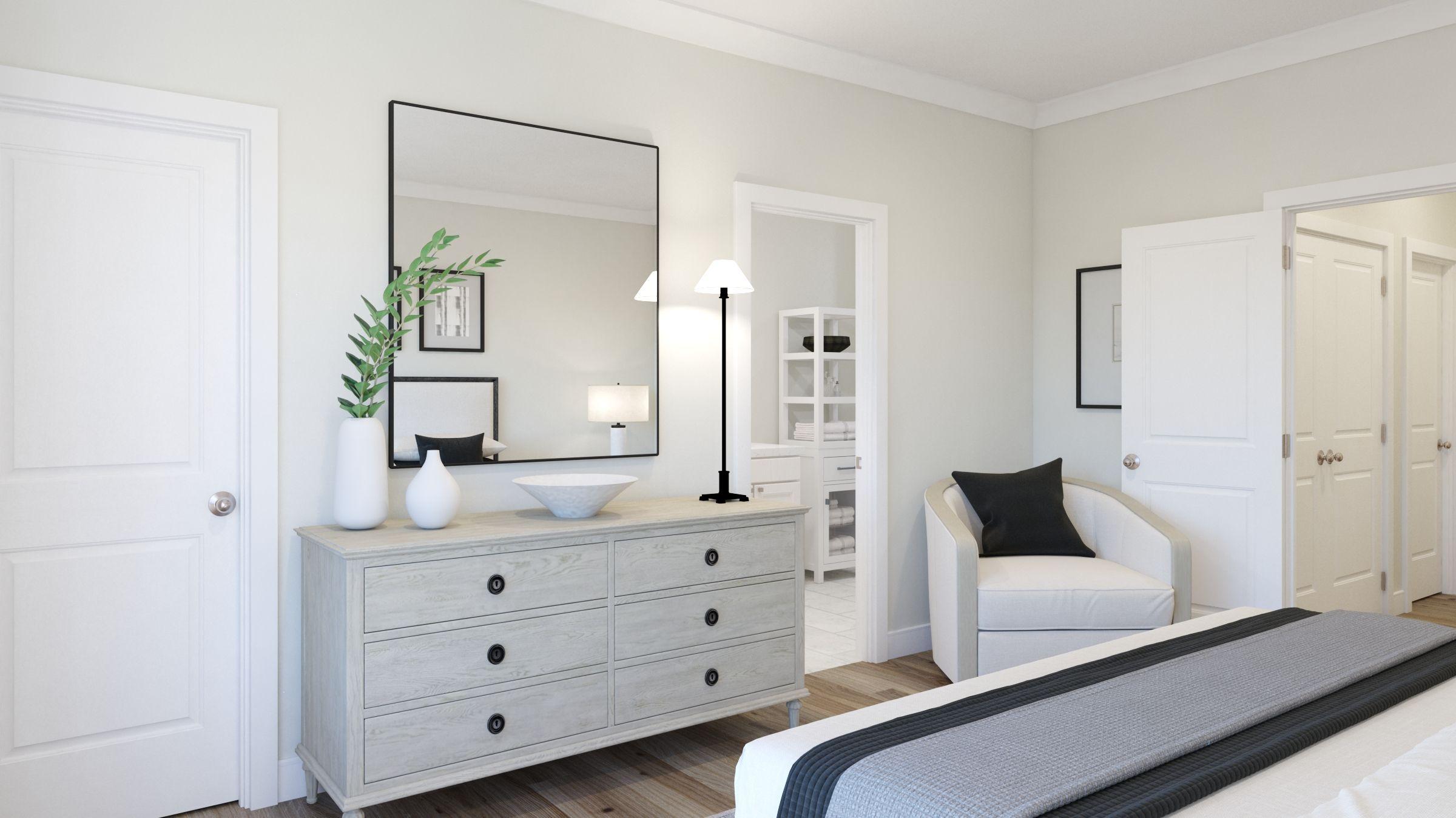 Bedroom featured in the Tristan By Van Metre Homes in Washington, VA